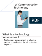 Impacts of Communication Technology