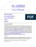 Dg Ammos Manual