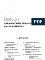 Los Almacenes en La Empresa - Modulo 2