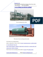 Tyre Recycling Pyrolysis Plant