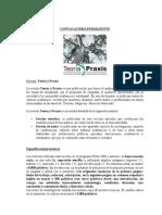 Convocatoria-Abierta Revista TEORIA Y PRAXIS