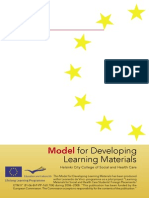 Model for developing material