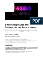 Ephesians Small Group Guide Week 1