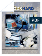 Rock Hard Carbide tipped masonry hammer drill catalog.