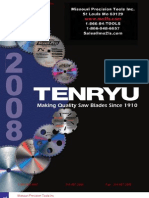 Tenryu Carbide Tipped Saw Blade Catalog