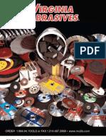 Virginia Abrasives Bonded Abrasive Catalog