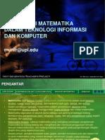 Kontribusi Matematika Dalam TIK