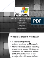 Group 3 - MS Windows