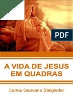A vida de Jeus em quadras-impressão