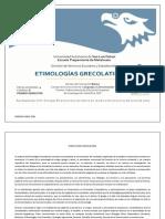 ETIMOLOGÍAS GRECOLATINAS I_2