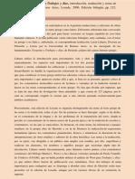 reseña traduccion teogonía ed. losada