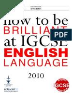 Edexcel IGCSE English Language Revision Booklet