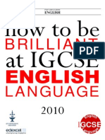 Edexcel IGCSE English Language Revision Booklet