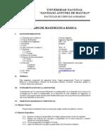 Matemática Básica (Ing Agricola)