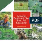 Buku Tumbuhan Berkhasiat Obat Etnis Asli Kalimantan