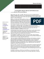 Media Smart Server EX490, EX495 Advisory