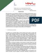 Historia de La Concentracion Economica y Bancaria en Chile