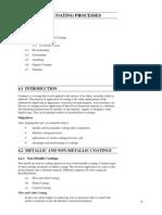 Unit Metal Coating Processes Ignou