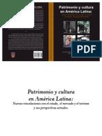 Patrimonio y cultura en América Latina