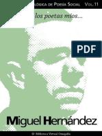 Cuaderno de Poesia Citica n 11 Miguel Hernandez