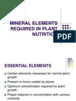Mpob Lect 1 Mineral Elements Reqin Plant Nut basic