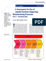 risk assessment for automated manufacturing process -1