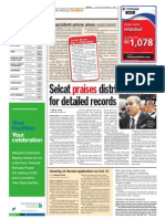 TheSun 2009-09-15 Page04 Selcat Praises District Office for Detailed Records