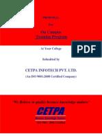 oncampustrainingproposalsep2011-111214235730-phpapp01