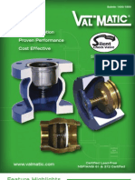 Silent Check Valve - Wafer and Globe Style - 2012