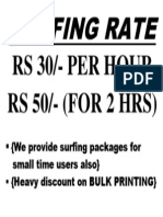 Surfing Rate