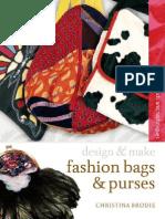 Design & Make Fashion Bags & Purses