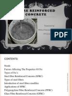 Fiber Reinforced Concrete(1)