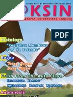 Vaksin Magazine Unila 1st ed. December 2008