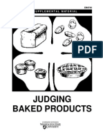 Criteria in Judging Baked Products