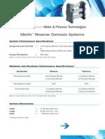 Merlin Spec Sheet
