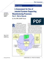 Risk assessment in automated manufacturing practices 2