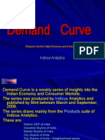 Demand Curve - Glimpses into the Indian Economy and Consumers