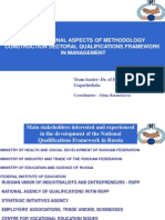 Organizational and Methodological Aspects of Building Sectoral Qualifications Framework in Management. Russian experience