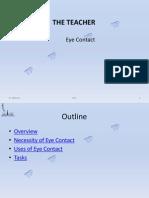 TP6 Eye Contact