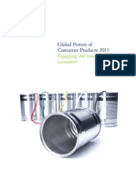 Global Powers of Consumer Products 2013 (Deliotte)