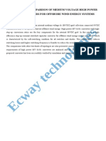Analysis and Comparison of Medium Voltage High Power DCDC Converters for Offshore Wind Energy Systems