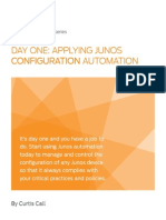 Applying Junos Configuration Automation