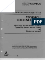 Atari 800 Operating System Manual, part 1 of 4