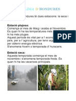 clima Hondures
