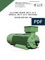 Fimet_ac Motors 1.000 Kw Serie Mcv-Acv_i-e