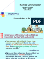 Chap-1 Communication in the Workplace' 2012 (2)