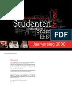 Jaarverslag 2008 Erasmushogeschool Brussel