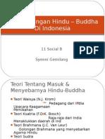 Perkembangan Hindu – Buddha