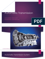 11,10 Automatic Transmission system