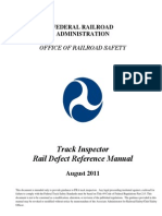 Rail Integrity Manual 82011